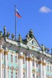 Architektura zima pałac w St Petersburg Zdjęcie Royalty Free