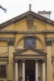 Architekturabschluß oben von Santa Maria Podone Church Stockfotografie