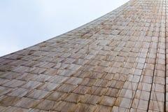 Architekturabstraktion Muster von den Platten für den Hintergrund Lizenzfreie Stockbilder