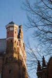 Architekturansicht der Kirche. Stockfotos