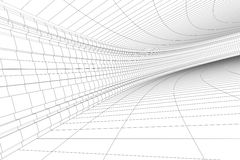 Architekturaufbau 3D Stockfotografie