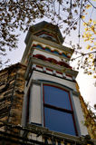 Architekturbaum Georgetowns Texas Stockfotos