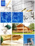 Architekturcollage Stockbild