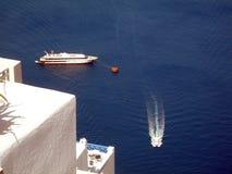 Architekturcycladen-Inseln Griechenland Stockbilder