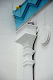 Architekturdetail bei Masjid Jamek Dato Bentara Luar in Batu Pahat, Johor, Malaysia Lizenzfreies Stockfoto