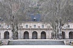 Architekturdetail der Benediktiner-Abtei Lizenzfreie Stockfotos
