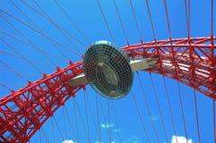 Architekturdetail der Brücke Stockfotografie