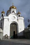 Architekturdetail der Kathedrale von Christus der Retter Stockfotografie