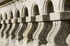 Architekturdetail der Wand Lizenzfreies Stockfoto