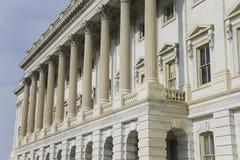Architekturdetail des US-Kapitols Lizenzfreie Stockfotos