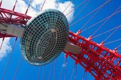 Architekturdetail einer Brücke Stockfotos