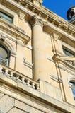 Architekturdetail eines historischen Gebäudes Lizenzfreies Stockfoto