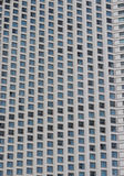 Architekturdetail eines modernen Gebäudes Lizenzfreies Stockfoto