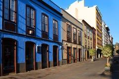 Architekturdetail in San Cristobal de la Laguna lizenzfreie stockbilder