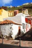 Architekturdetail in San Sebastian de la Gomera Stockbilder