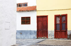 Architekturdetail in San Sebastian de la Gomera Lizenzfreie Stockbilder