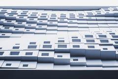 Architekturdetail Wanddekoration Muster-Zusammenfassungshintergrund Stockfotografie