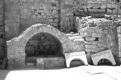 Architekturdetails der Kathedrale von Sankt Nikolaus Stockbilder