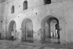 Architekturdetails der Kathedrale von Sankt Nikolaus Stockfotografie