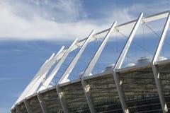 Architekturdetails, Design des Stadions Lizenzfreies Stockfoto