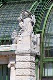 Architekturdetails von Palmenhaus Wien Lizenzfreie Stockbilder