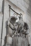 Architekturdetails von Station Mailands Centrale, Mailand, Italien Lizenzfreie Stockbilder