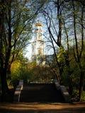 Architekturensemble in Kolomenskoye lizenzfreie stockbilder
