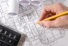 Architekturentwurf Lizenzfreie Stockfotos