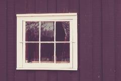 Architekturfenster-Details Stockfoto