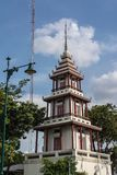Architekturgebäude nahe Wat Pho Bangkok Stockbilder