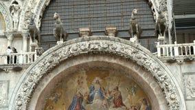 Architekturgebäude in Venedig stock footage