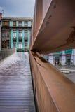 Architekturgrenze Stockfoto
