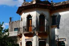 Architekturhaus Colonial Mexiko Lizenzfreies Stockfoto