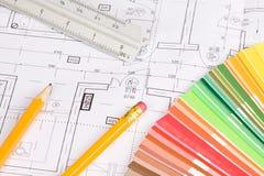Architekturhintergrund Lizenzfreies Stockbild
