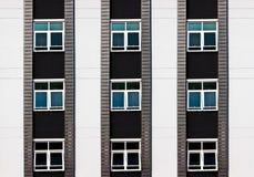 Architekturhintergrund der Wohnung in der Außenseite. Stockfotos