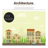 Architekturhintergrund Stadtbild 2 Stockfotografie