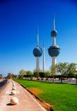 Architekturikonen des Kuwait City Lizenzfreie Stockfotos