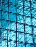 Architekturoberflächenglaswand Stockfoto