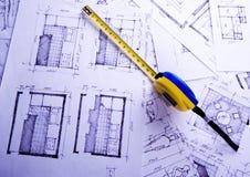 Architekturplan Lizenzfreie Stockfotos