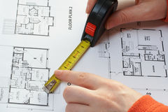 Architekturplanset Lizenzfreie Stockbilder