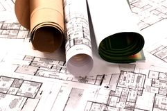 Architekturprojekt Lizenzfreie Stockbilder