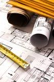 Architekturprojekt Lizenzfreie Stockfotos