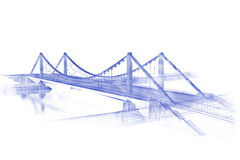 Architekturskizze Stockfoto