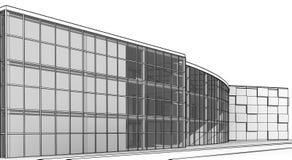 Architekturskizzengestalt vektor abbildung