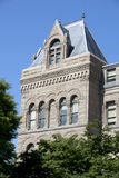 Architektursonderkommando von Salt Lake City Hall Lizenzfreie Stockfotos