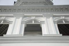 Architektursonderkommando von Sultan Abu Bakar State Mosque in Johor Bharu, Malaysia Stockbild