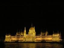 Architekturstädte der Europa-Sommernacht Lizenzfreies Stockfoto