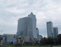 Architekturstädte des Europa-Sommertages Stockfotografie