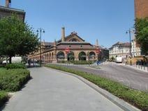 Architekturstädte des sonnigen Sommertages Europas Lizenzfreie Stockbilder
