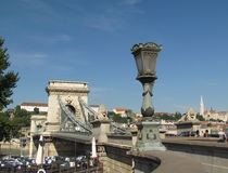 Architekturstädte des sonnigen Sommertages Europas Stockfotografie
